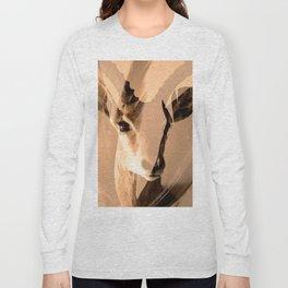 Beautiful and fast - Impala portrait Long Sleeve T-shirt
