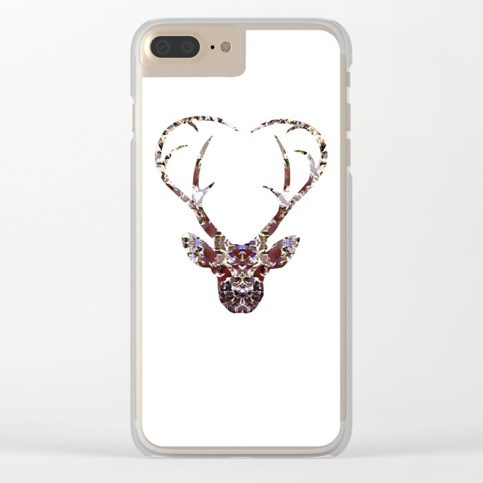 My Deer Love Clear iPhone Case
