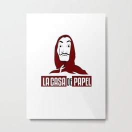 La Casa De Papel #1 Metal Print