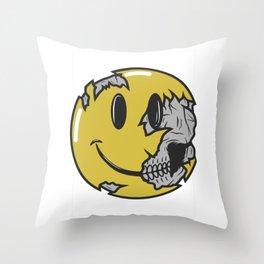 Keep Smile Throw Pillow