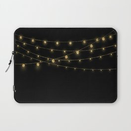 Gold rich Glitter Chain- Treasure Sparkle Laptop Sleeve
