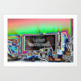 Listen to This Wall Art Print