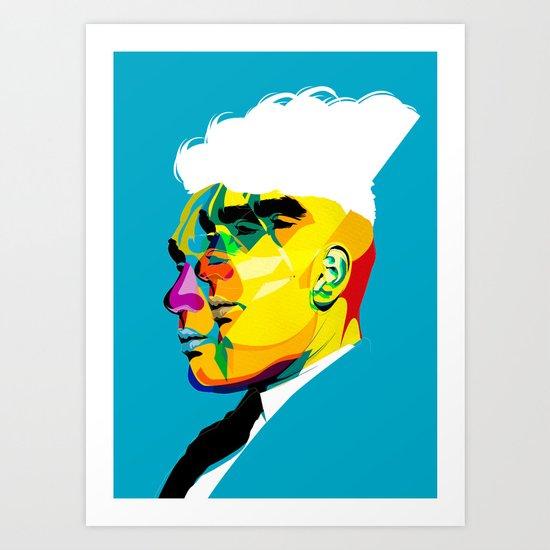 mugshots 01 Art Print