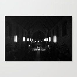Night prayer Canvas Print