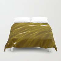 orange pattern Duvet Covers featuring Orange pattern by Svetlana Korneliuk