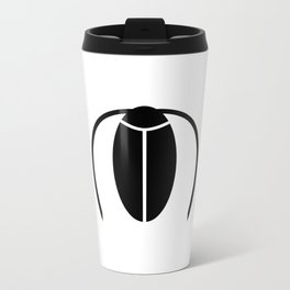 Bugs: abstract Cockroach Metal Travel Mug