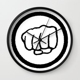 Fist Wall Clock