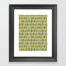 Woodland Trees Framed Art Print