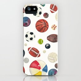 Sports fever iPhone Case