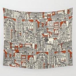 Hong Kong toile de jouy Wall Tapestry