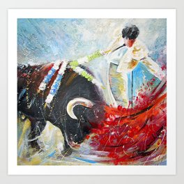 2010 Toro Acrylics 02 Art Print
