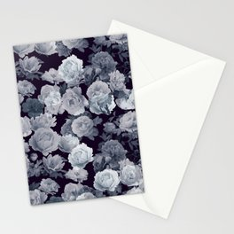 Abstract floral background 214 Stationery Cards