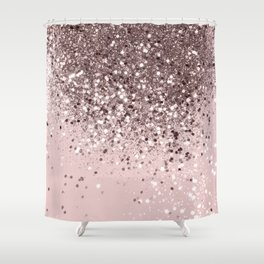 Cali Summer Vibes Lady Glitter #13 #shiny #decor #art #society6 Shower Curtain