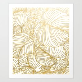 Wilderness Gold Art Print