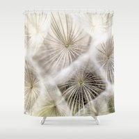 biology Shower Curtains featuring Into the deep by UtArt