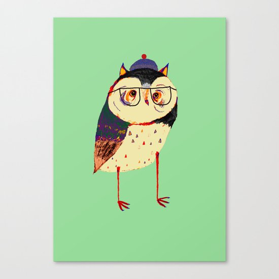 Owl Cutey. Canvas Print