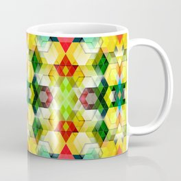 Cutout Facet Pattern 5 Coffee Mug