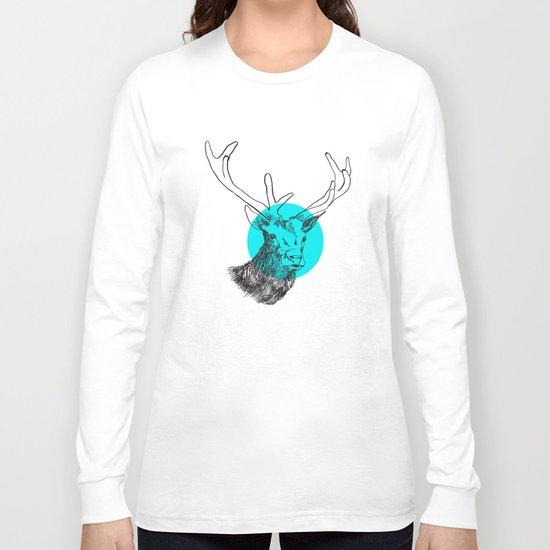 Happy Deer Long Sleeve T-shirt