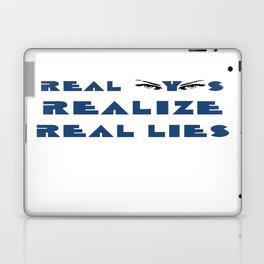 Real Eyes Realize Real Lies Laptop & iPad Skin