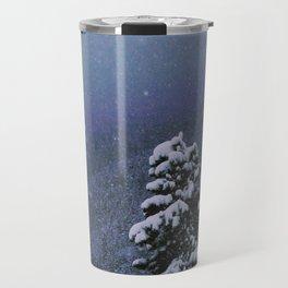 Falling Snow Travel Mug