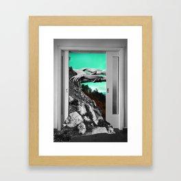 The Magnetic Field Framed Art Print