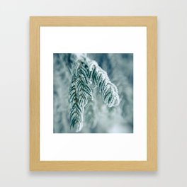 Winter Landscape- Covered in Snow Framed Art Print