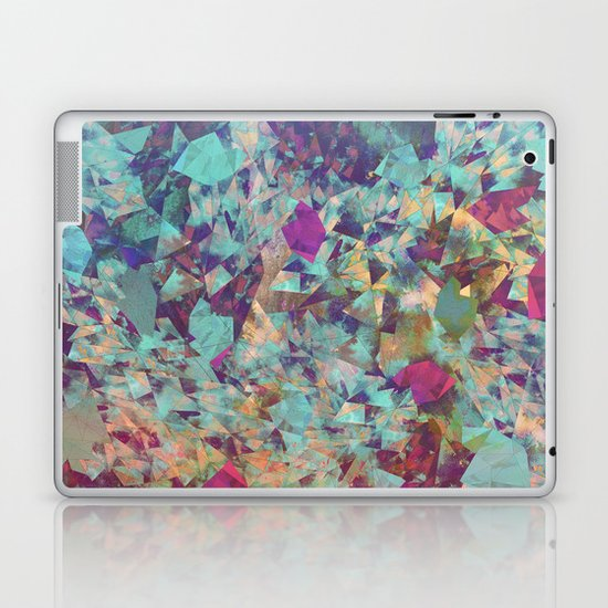 Spaced Geometric Laptop & iPad Skin