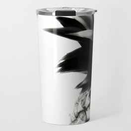 Black Pineapple Travel Mug