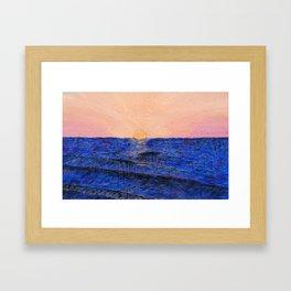 An Unexpected Evening Framed Art Print