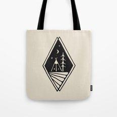 Night Camp Tote Bag