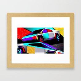 Cybertruck Framed Art Print