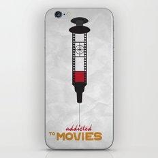 Addicted: Movies iPhone & iPod Skin