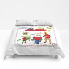 Natural Demographic #4 Comforters