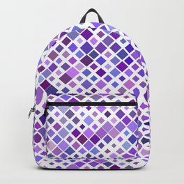 Purple Squared Backpack