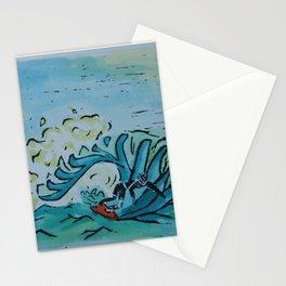 Summer Surfer Stationery Cards