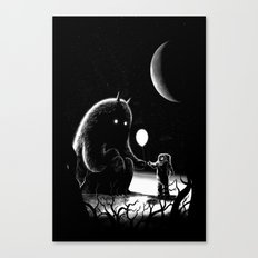 The Guest Canvas Print