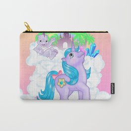g1 my little pony Princess Amethyst and Spiny Carry-All Pouch