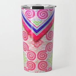 Lovely Hmong snail money bag Travel Mug
