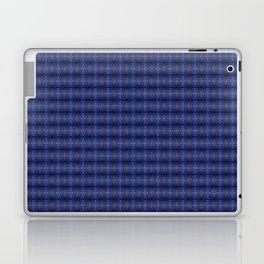 Peacock Blues Pattern Laptop & iPad Skin