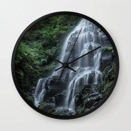 Fairy Falls Wall Clock