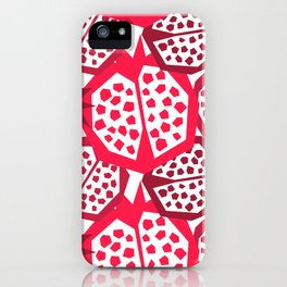 Pomegranate Patterns iPhone Case