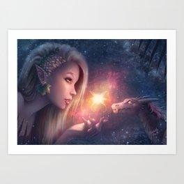 Fairy Wonders Art Print