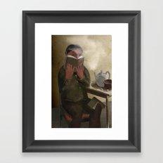 The Keeker in a Teahouse Framed Art Print