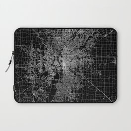 Indianapolis map Laptop Sleeve