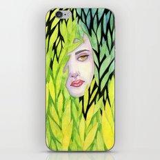 Botanical cage iPhone & iPod Skin