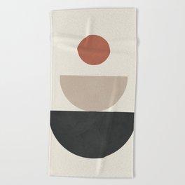 Geometric Modern Art 30 Beach Towel