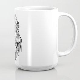 Bohemian Celestial Wolf Coffee Mug