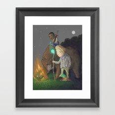 The Adventurers Framed Art Print