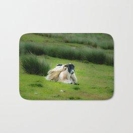 Wind sheared Sheep Bath Mat