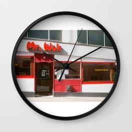 Mr. Wok Wall Clock